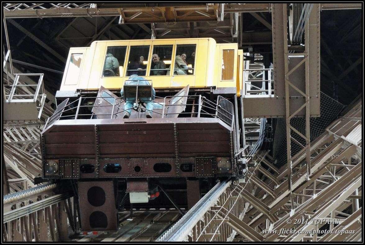 Parijs langs de seine de eiffeltoren skyscrapercity - De trap van de bistro ...