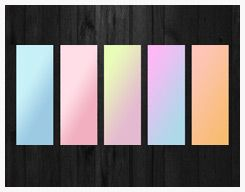 Pastel Gradient by shattereddesigns07 @ deviantart