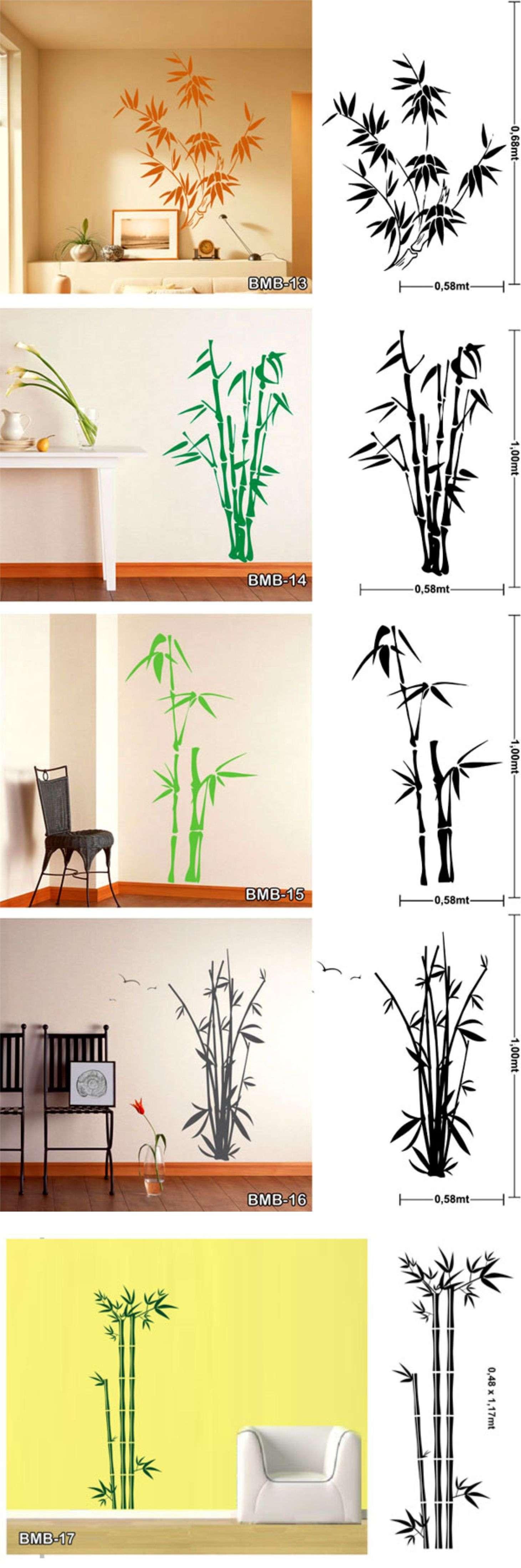Vinilos decorativos de pared todo bamb bamboo vinilos Todo vinilos decorativos