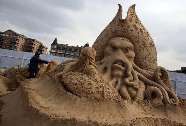 sculptorsplacefinishingc - Increíbles esculturas de arena en el Reino Unido