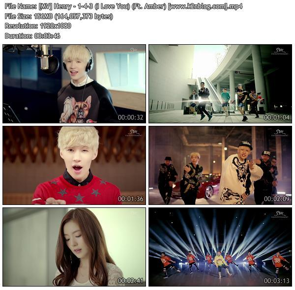[MV] Henry - 1-4-3 (I Love You) (Ft. Amber) [HD 1080p Youtube]