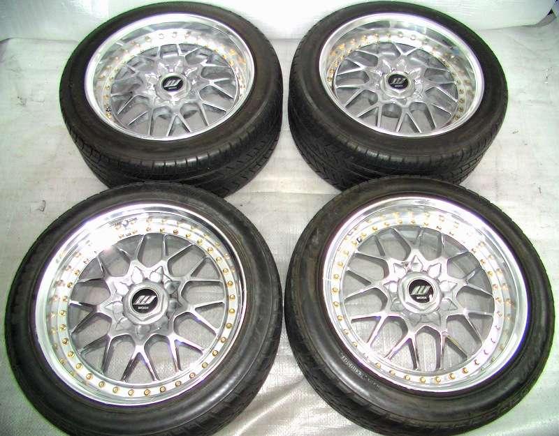 WORK VS-Edition 17 8J 9J 5x114 Rims Alloy Wheels S14 R33 RX7 R32