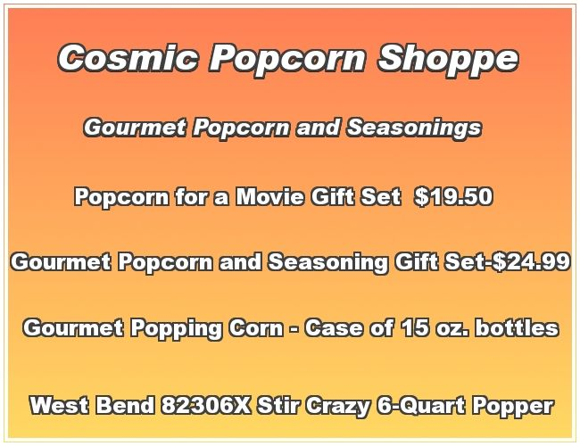 gourmet popcorn and popper cookers