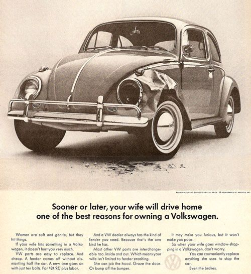 Julio cezar kronbauers blog volkswagen sooner or later your wife will drive home one of the best reasons for owning a volkswagen fandeluxe Images