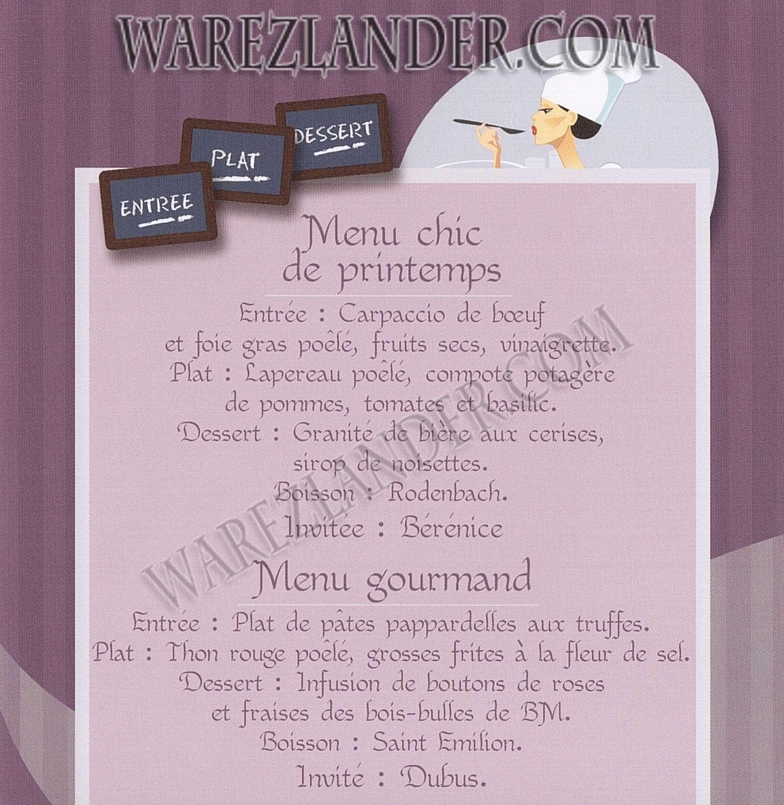 Id es de cuisine avec yves mattagne coffret 5 dvd warezlander - Idee menu printemps ...