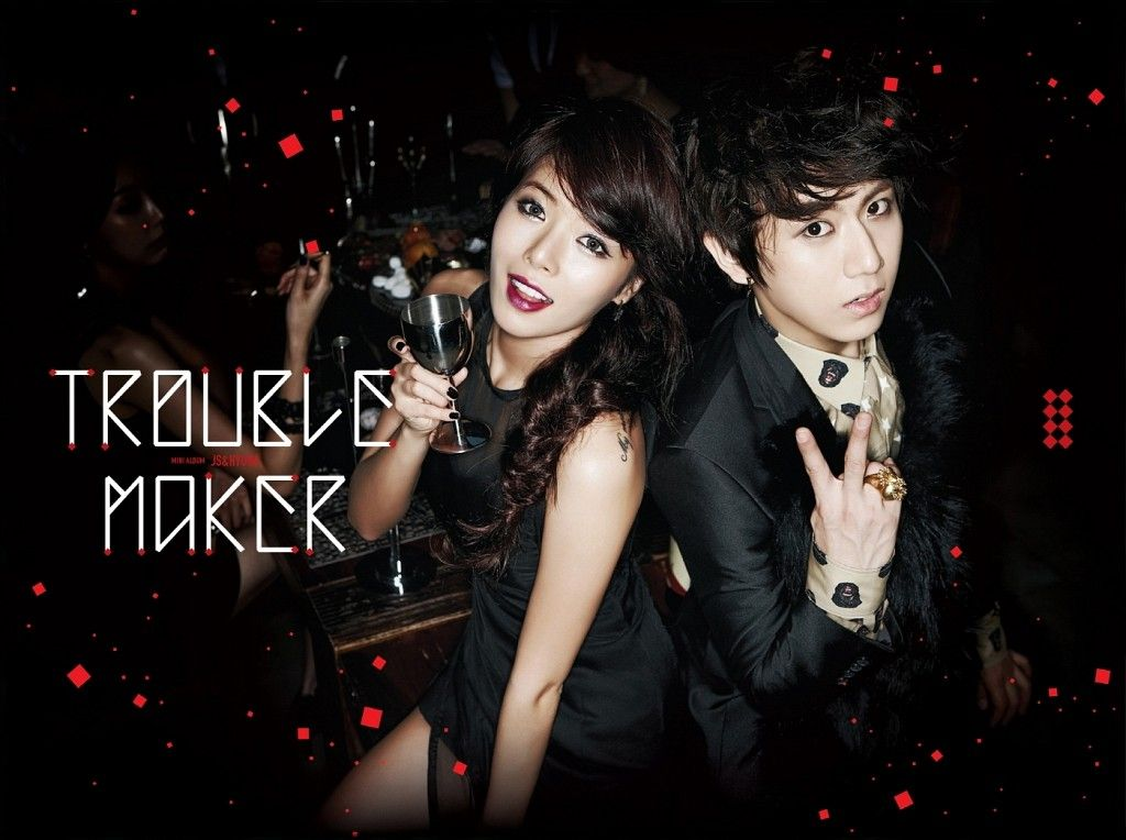 [Mini Album] Trouble Maker (HyunA & JS)   Trouble Maker