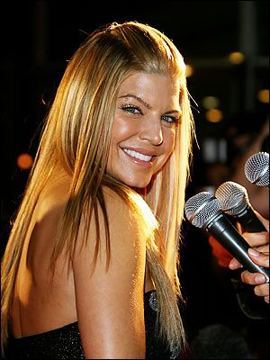 Cantante Fergie