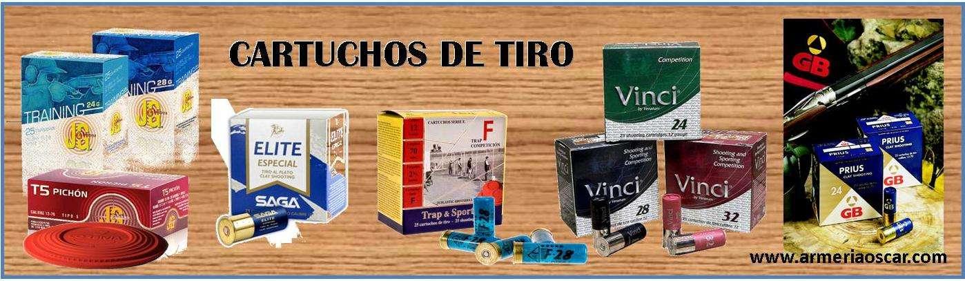 CARTUCHOS DE TIRO